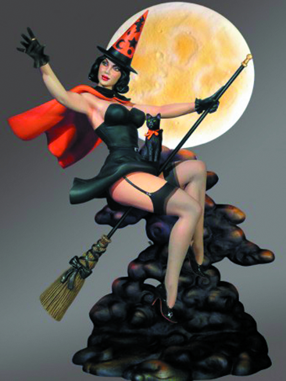 KIMBA THE WITCH HAPPY HALLOWEEN LE STATUE