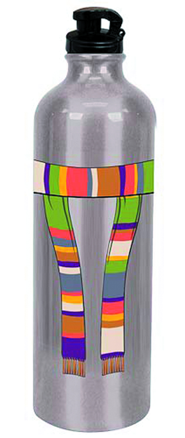 DOCTOR WHO 4TH DOCTOR SCARF WATER BOTTLE