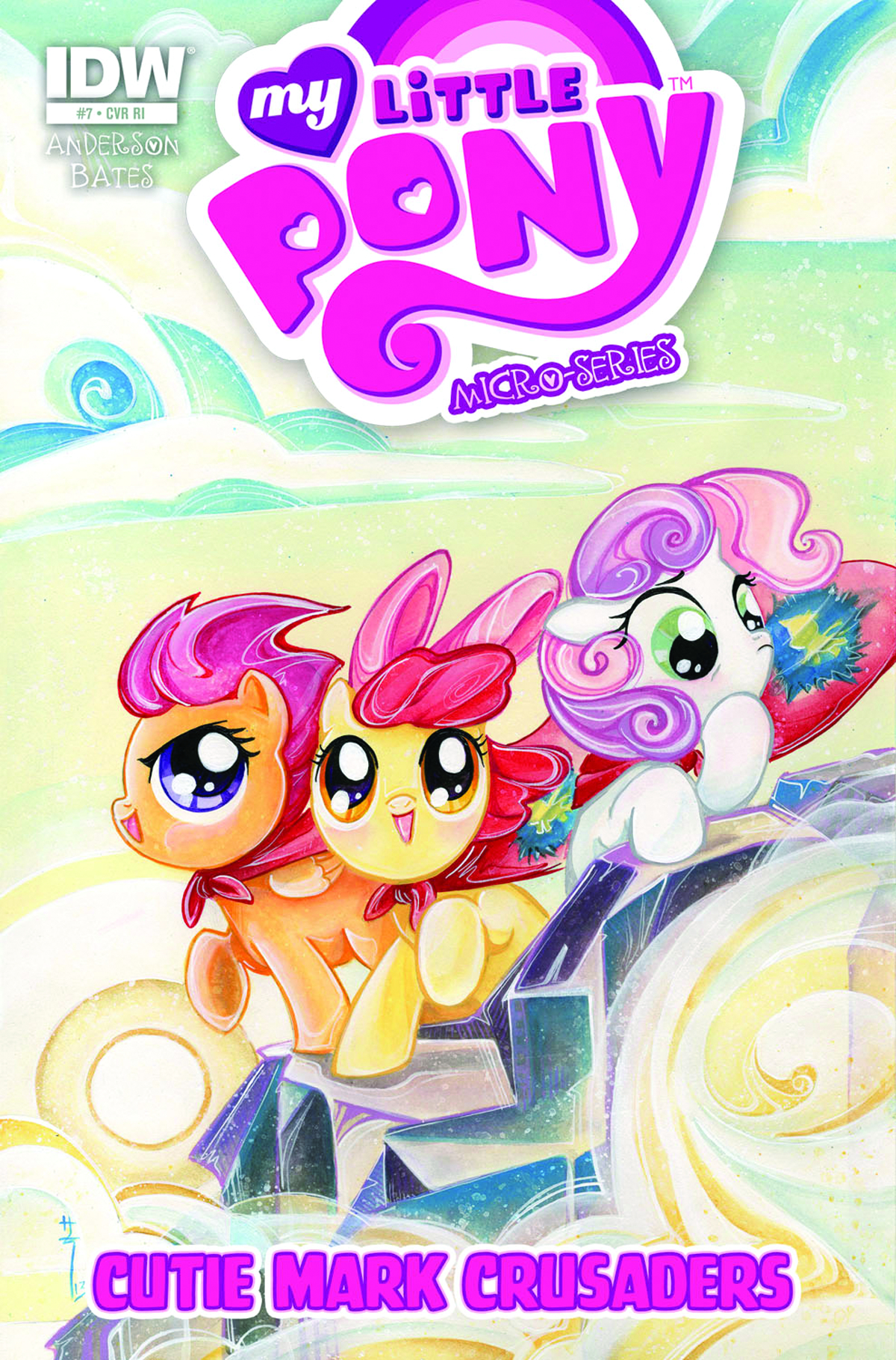 MY LITTLE PONY MICRO SERIES #7 CUTIE MARK CRUSADERS