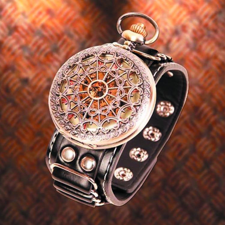 STEAMPUNK WRIST CHRONAMBULATOR