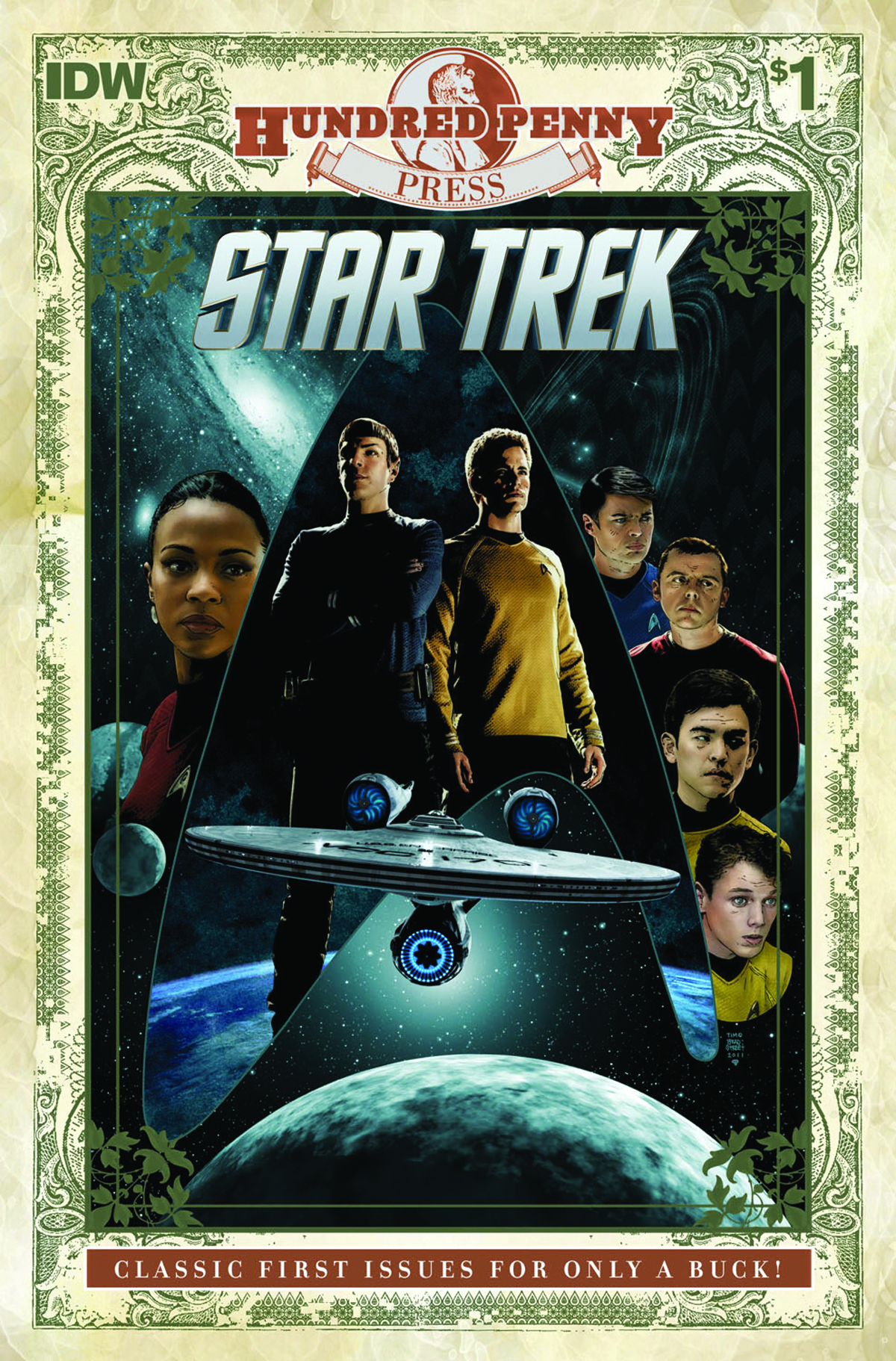 100 PENNY PRESS STAR TREK #1