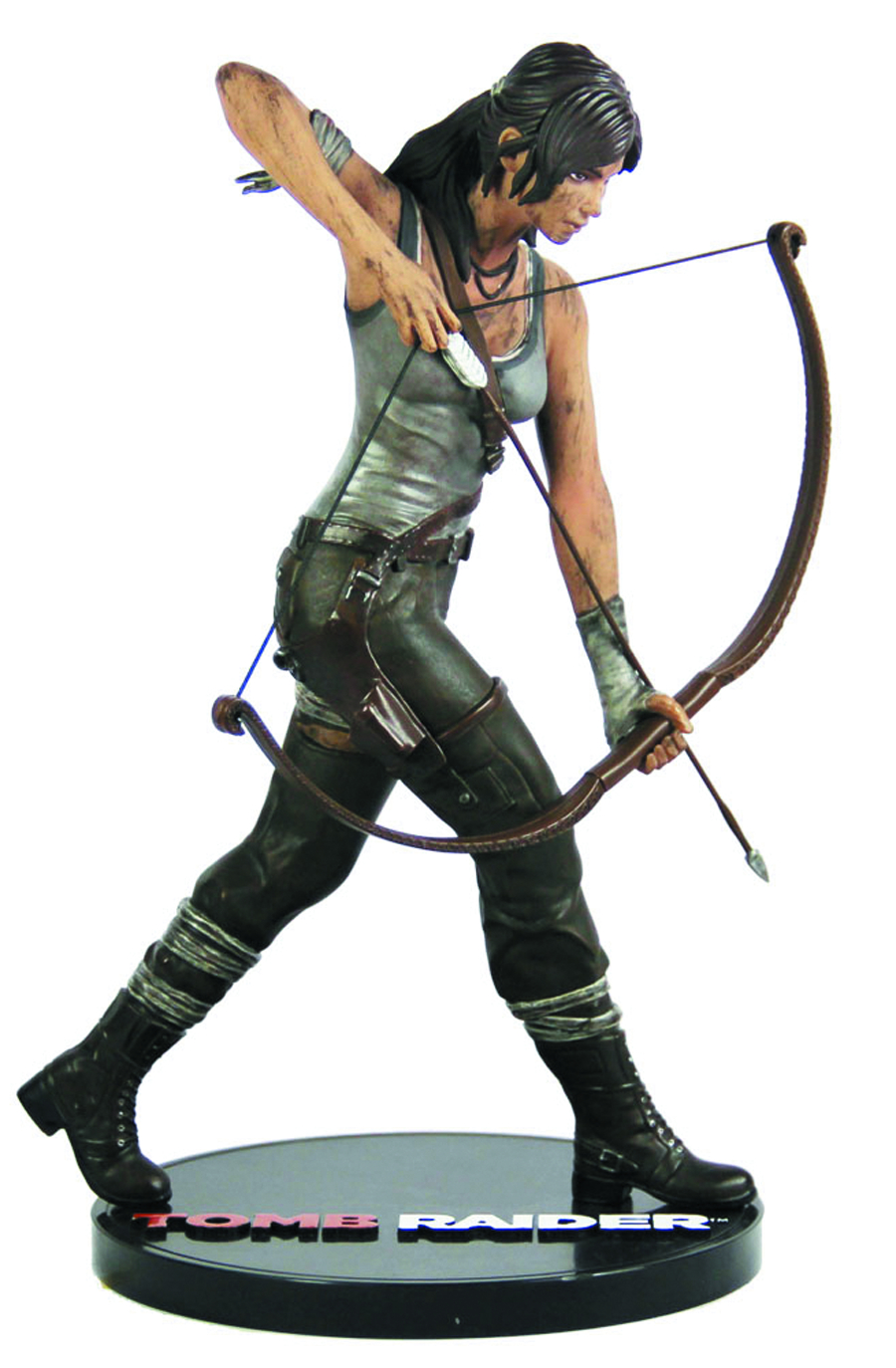 TOMB RAIDER LARA CROFT 9IN PVC FIGURE