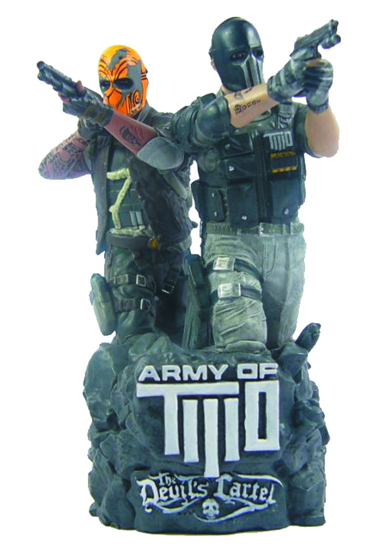 ARMY OF TWO DEVILS CARTEL 5IN MINI BUST