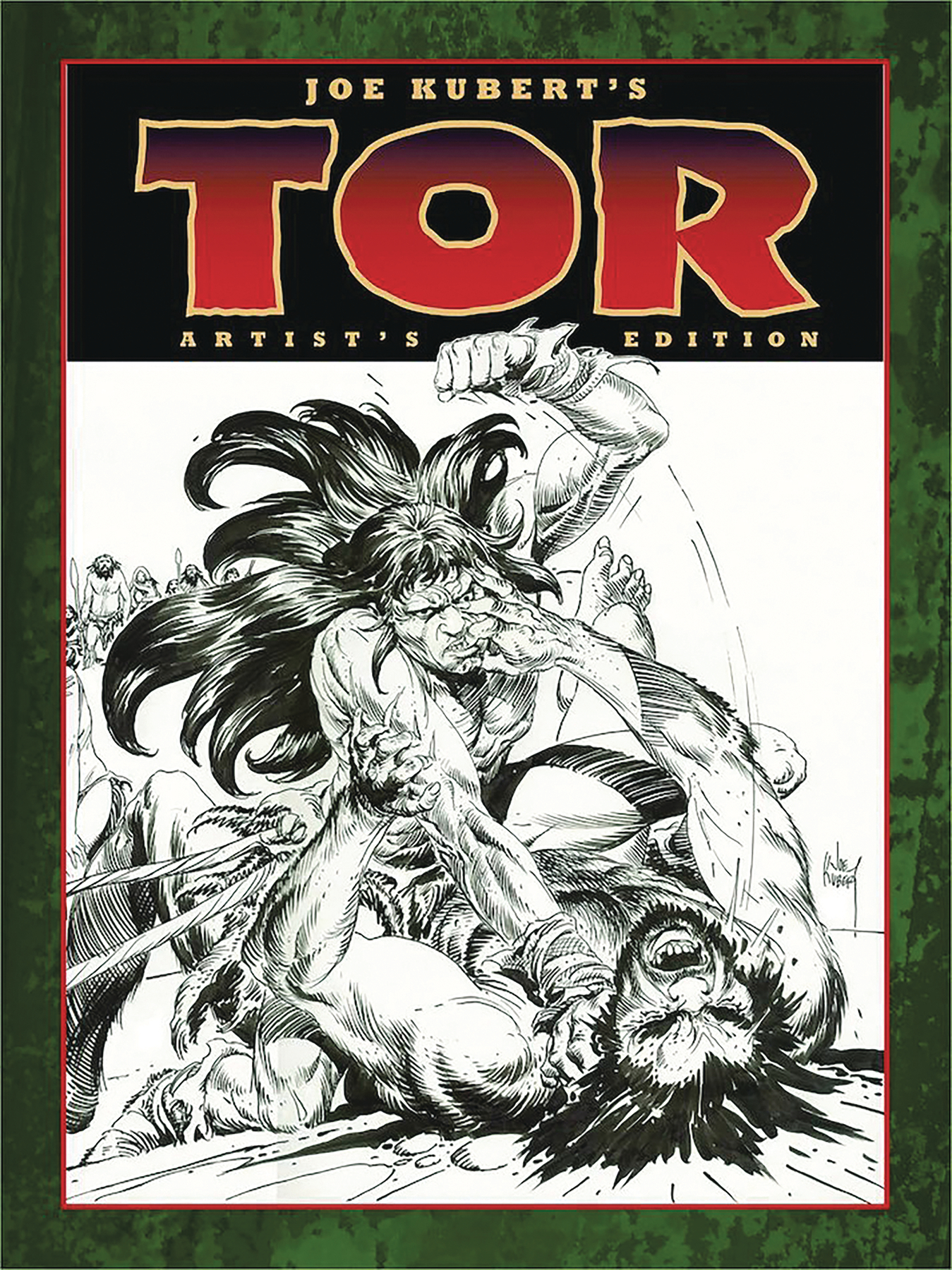 JOE KUBERT TOR ARTIST ED HC