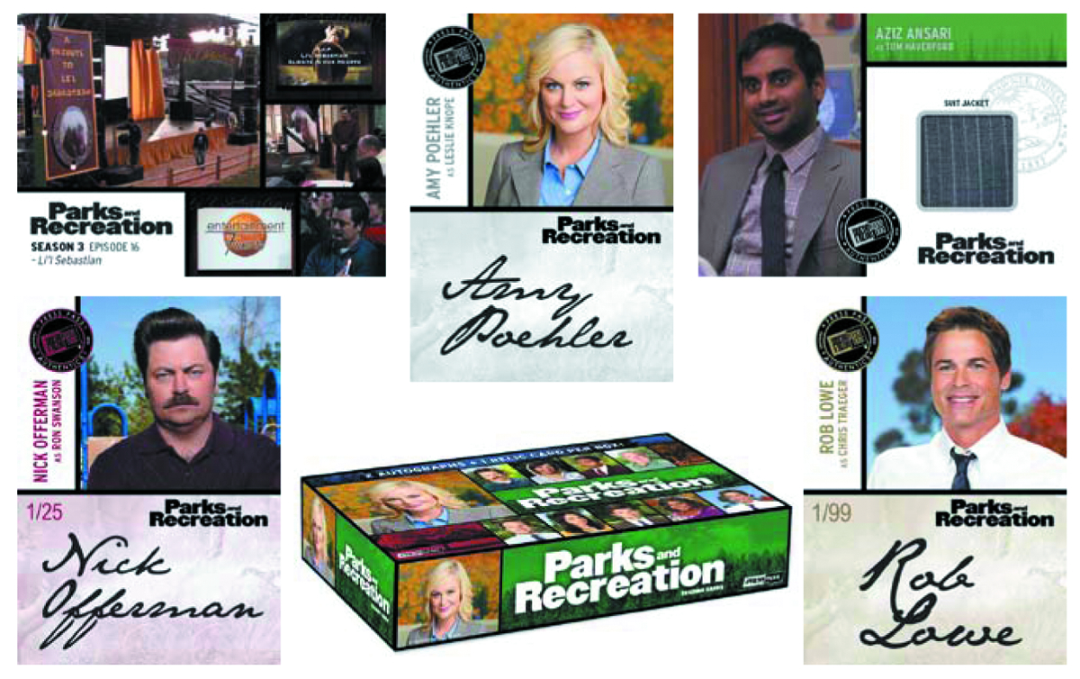 PARKS & RECREATION SEASON 1-4 T/C BOX