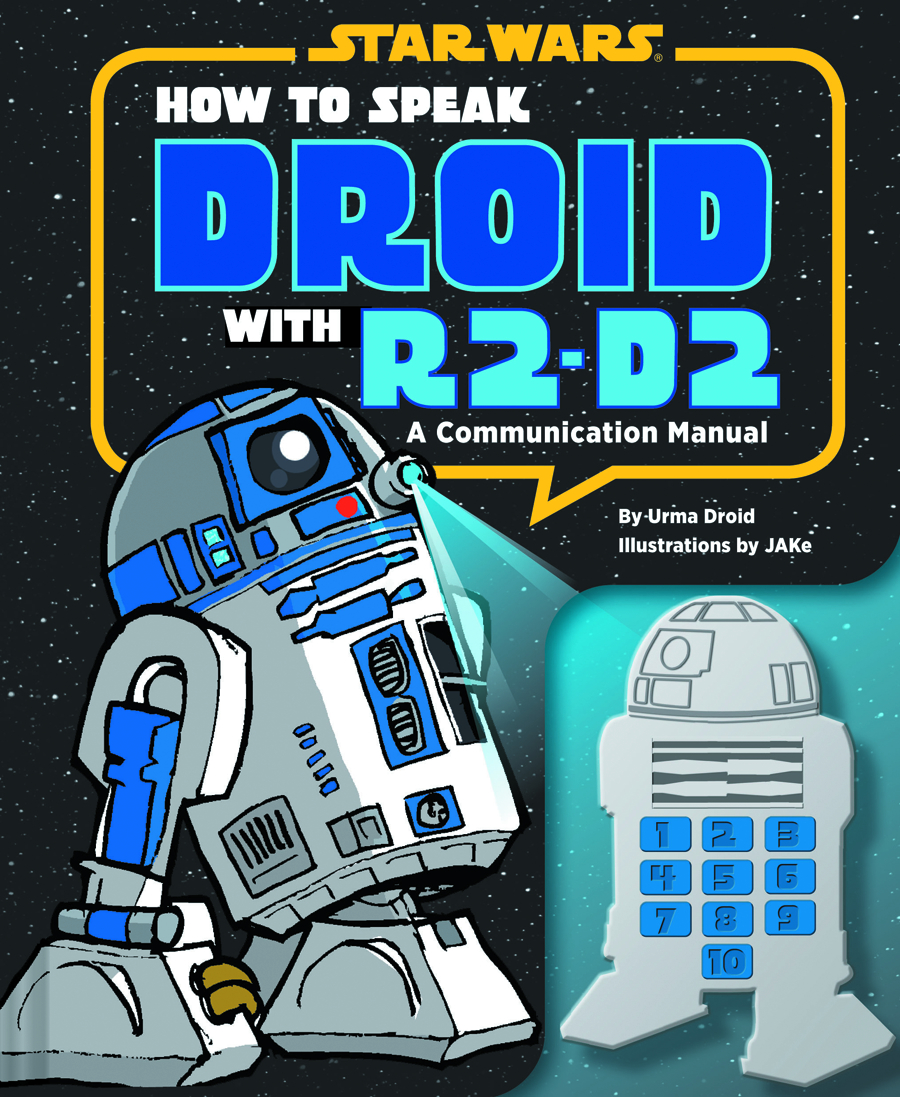 HOW TO SPEAK DROID W/ R2-D2 COMMUNICATION MANUAL HC