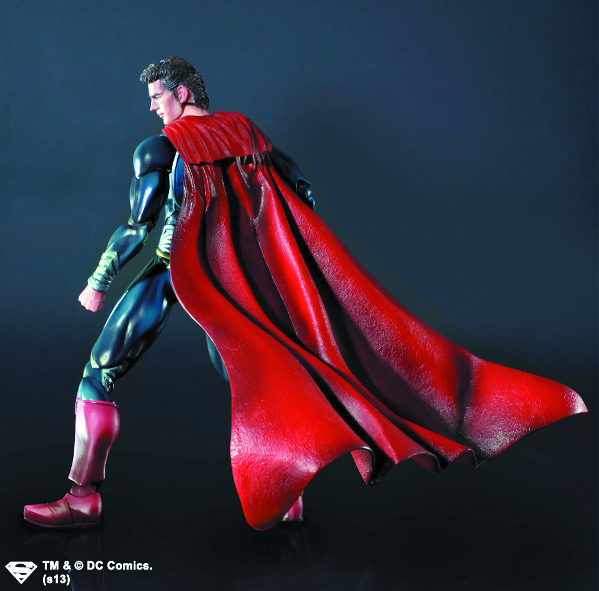 MAN OF STEEL PLAY ARTS KAI SUPERMAN AF