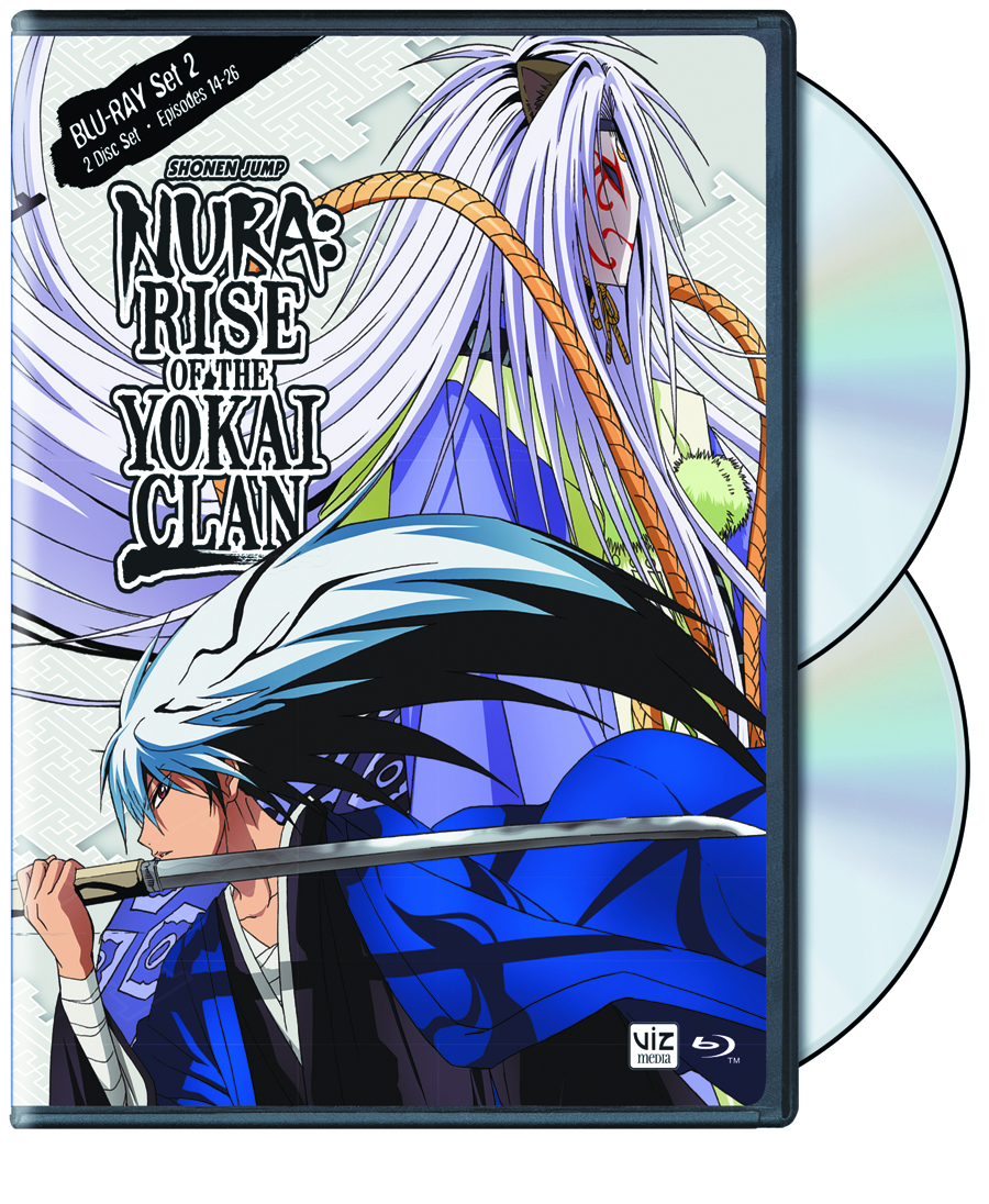 NURA RISE OF THE YOKAI CLAN DVD SET 02