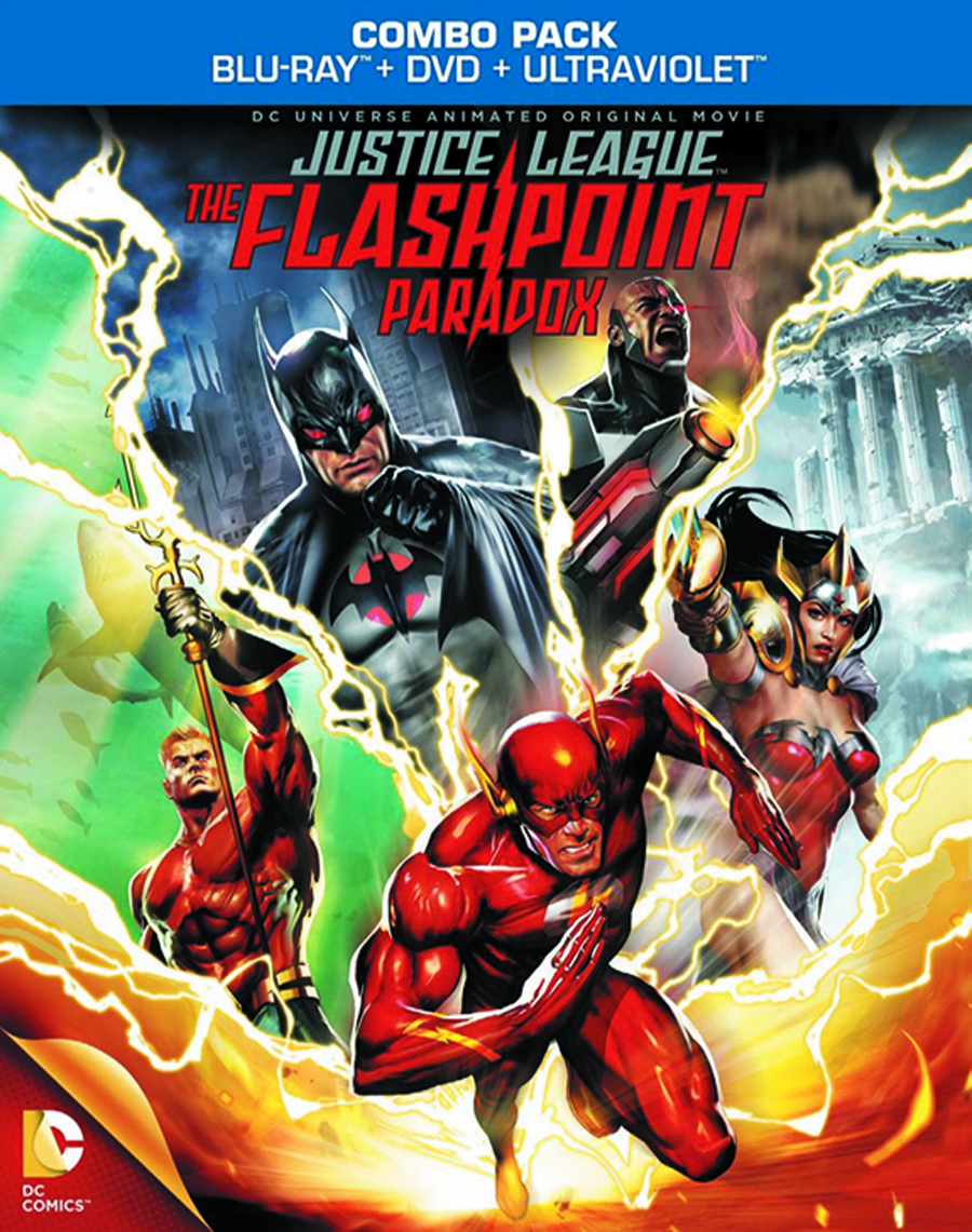 DCU JUSTICE LEAGUE FLASHPOINT PARADOX BD + DVD