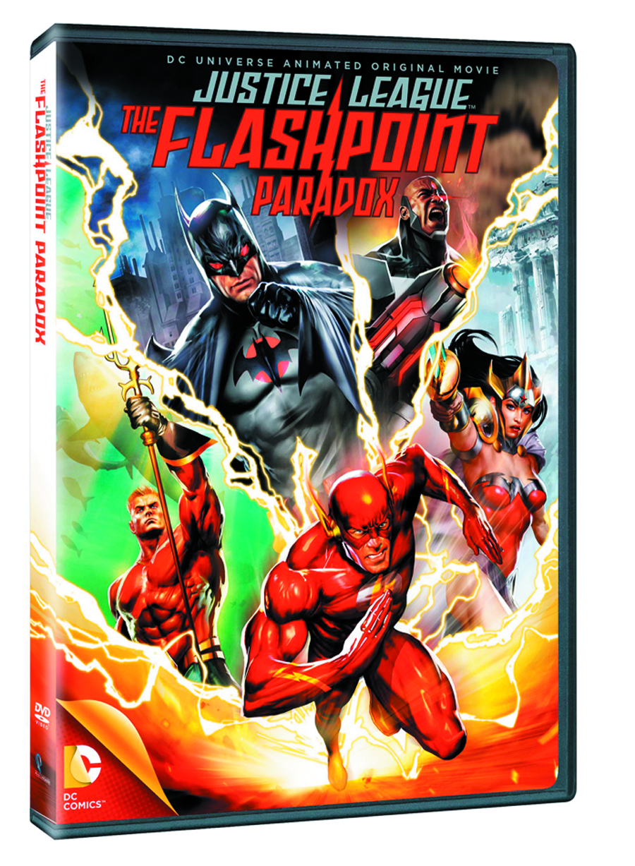 DCU JUSTICE LEAGUE FLASHPOINT PARADOX DVD
