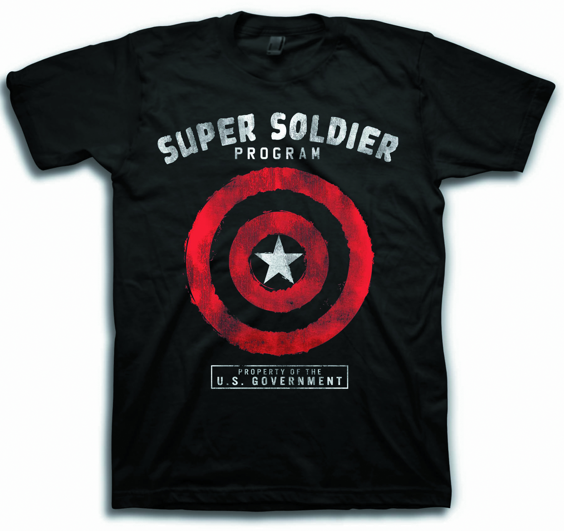SUPER SOLDIER PROGRAM BLK T/S LG