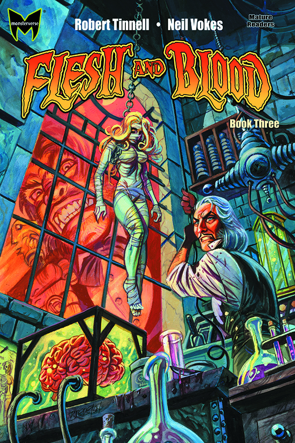 FLESH AND BLOOD GN VOL 03 (OF 4)