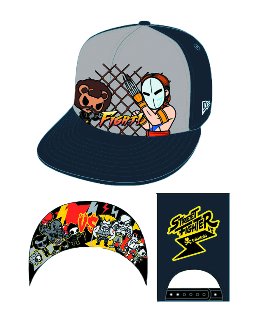 STREET FIGHTER X TOKIDOKI SLASHER SNAPBACK CAP