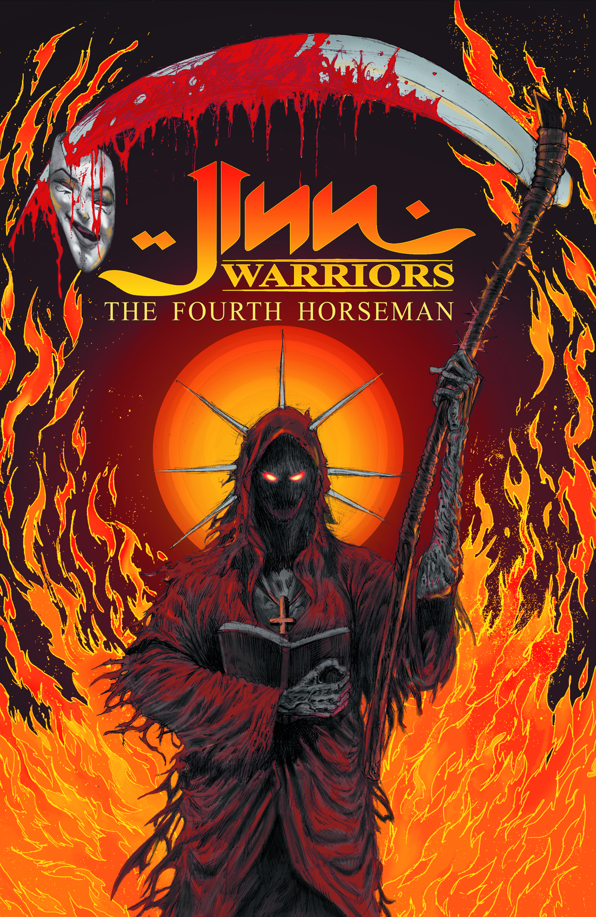 JINN WARRIORS GN VOL 02 FOURTH HORSEMEN