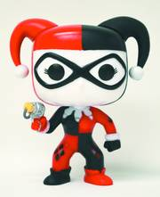 POP HEROES HARLEY QUINN PX VINYL FIG GLOW IN DARK VER
