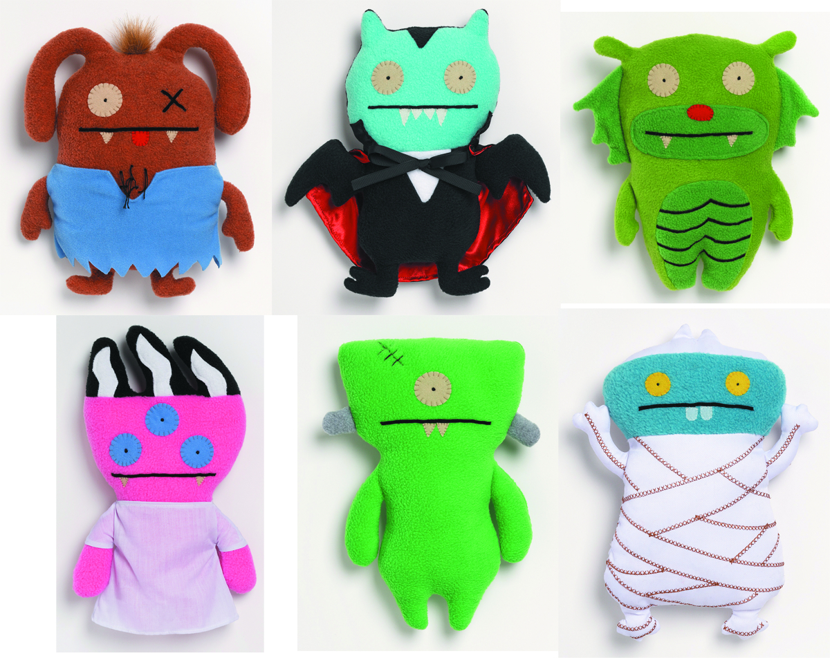 UGLYDOLL UNIVERSAL MONSTER 11IN PLUSH ASST