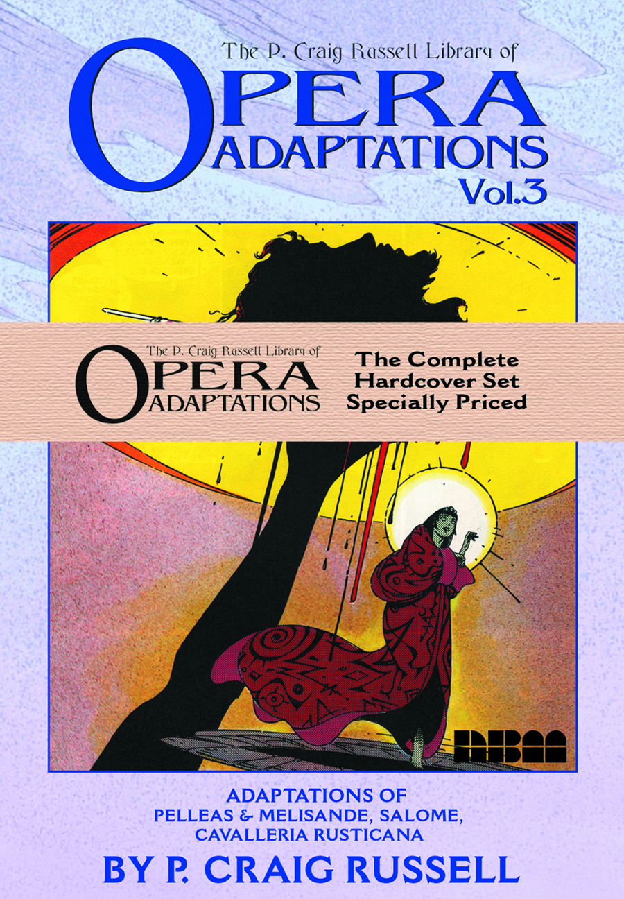 P CRAIG RUSSELL OPERA ADAPTATIONS HC SET