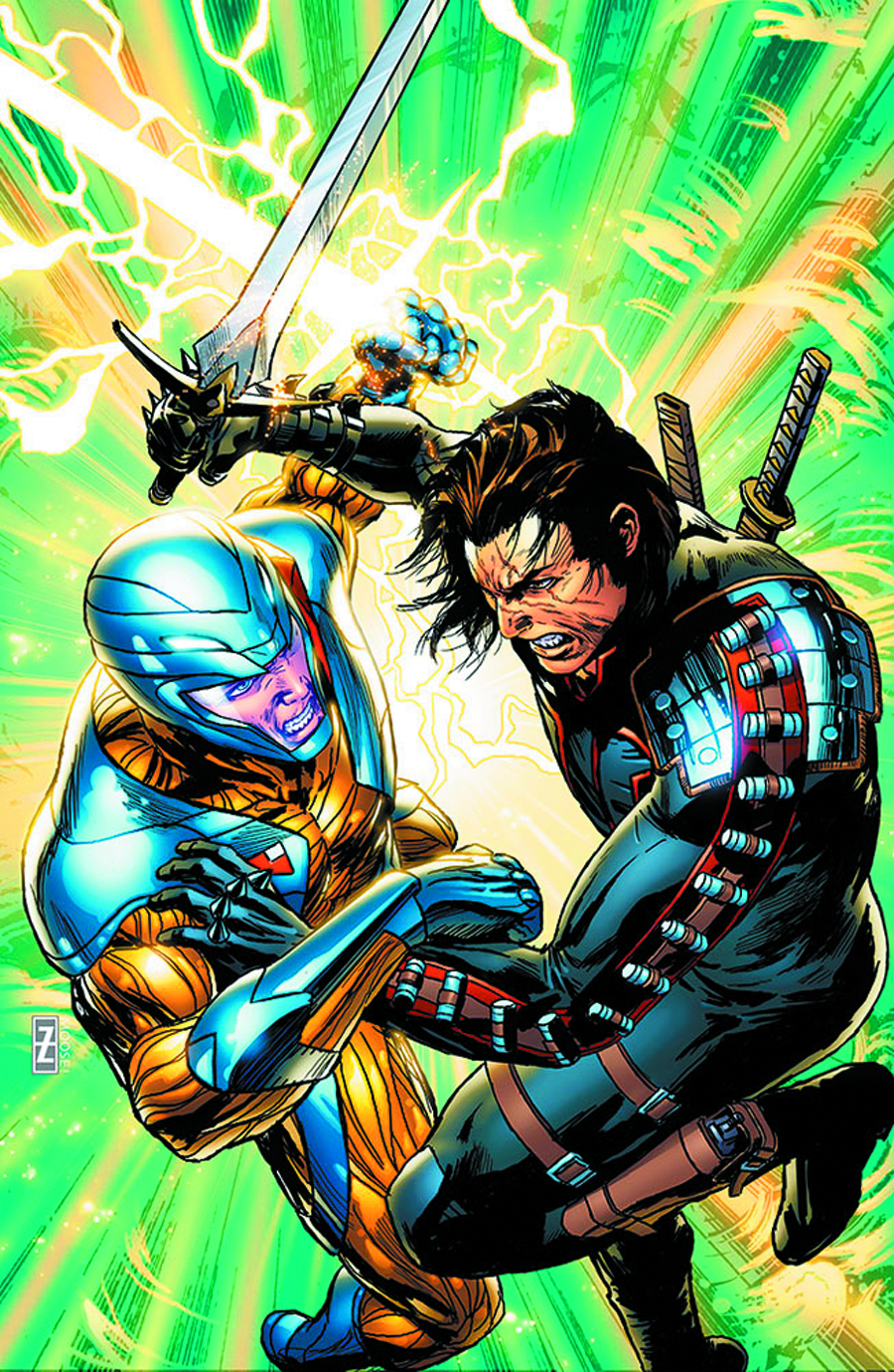 X-O MANOWAR #16 REG ZIRCHER
