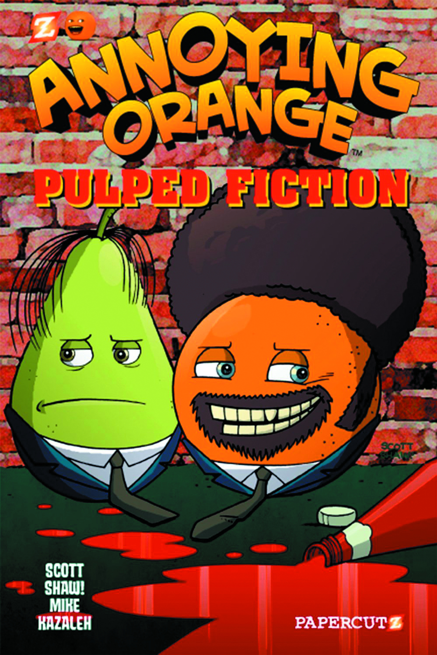 ANNOYING ORANGE HC VOL 03 PULPED FICTION