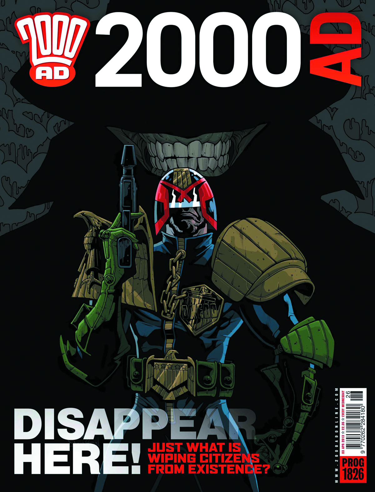 2000 AD PACK AUG 2013