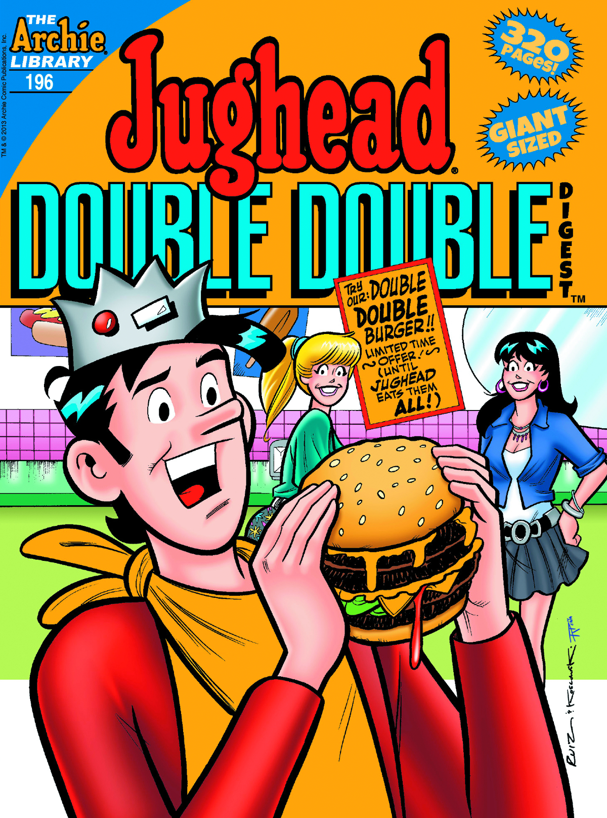 JUGHEADS DOUBLE DOUBLE DIGEST #196