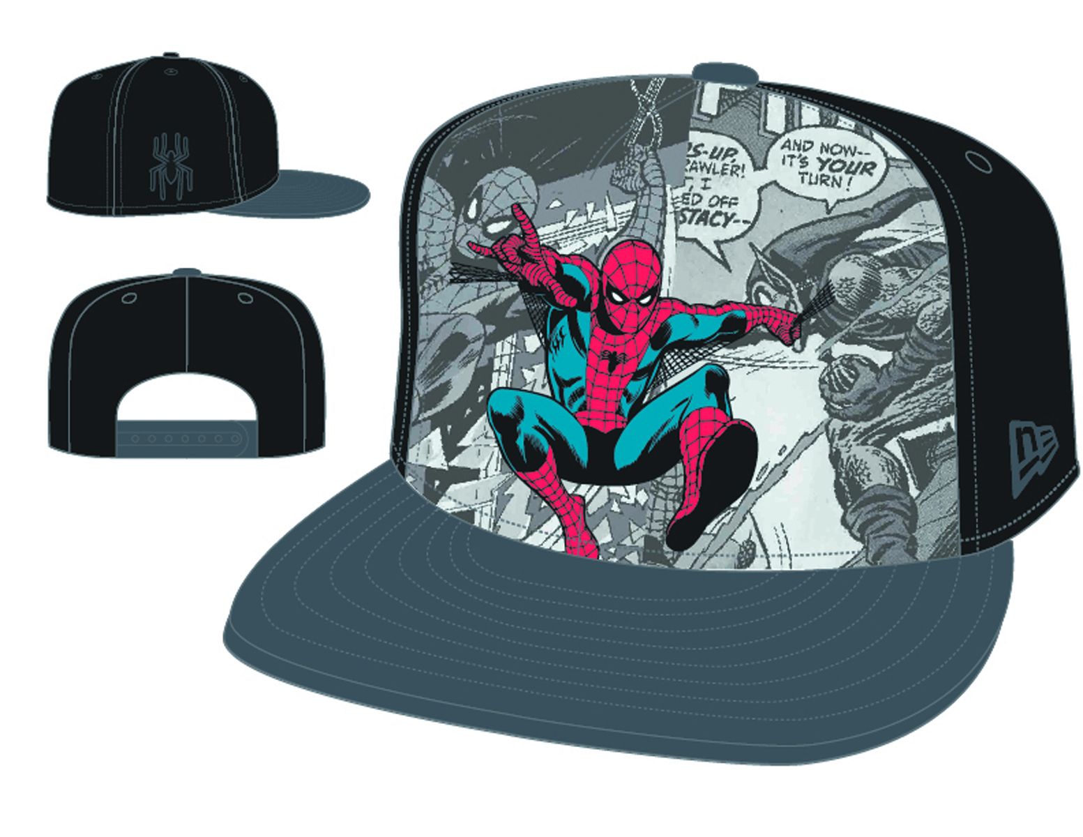 HERO BREAKOUT SPIDER-MAN SNAP BACK CAP