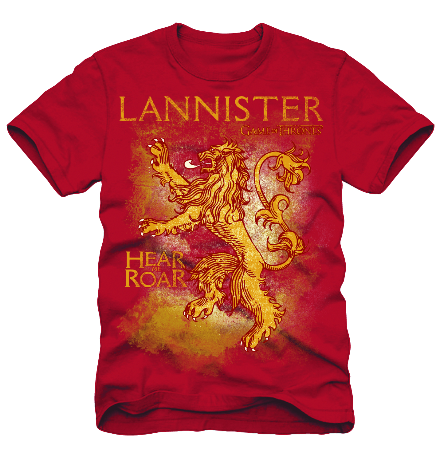 GAME OF THRONES LANNISTER RED T/S XL