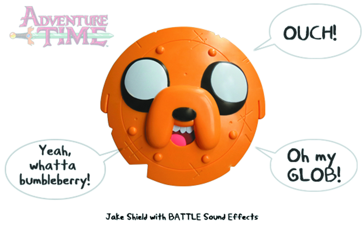 ADVENTURE TIME JAKE SHIELD W/SOUNDS