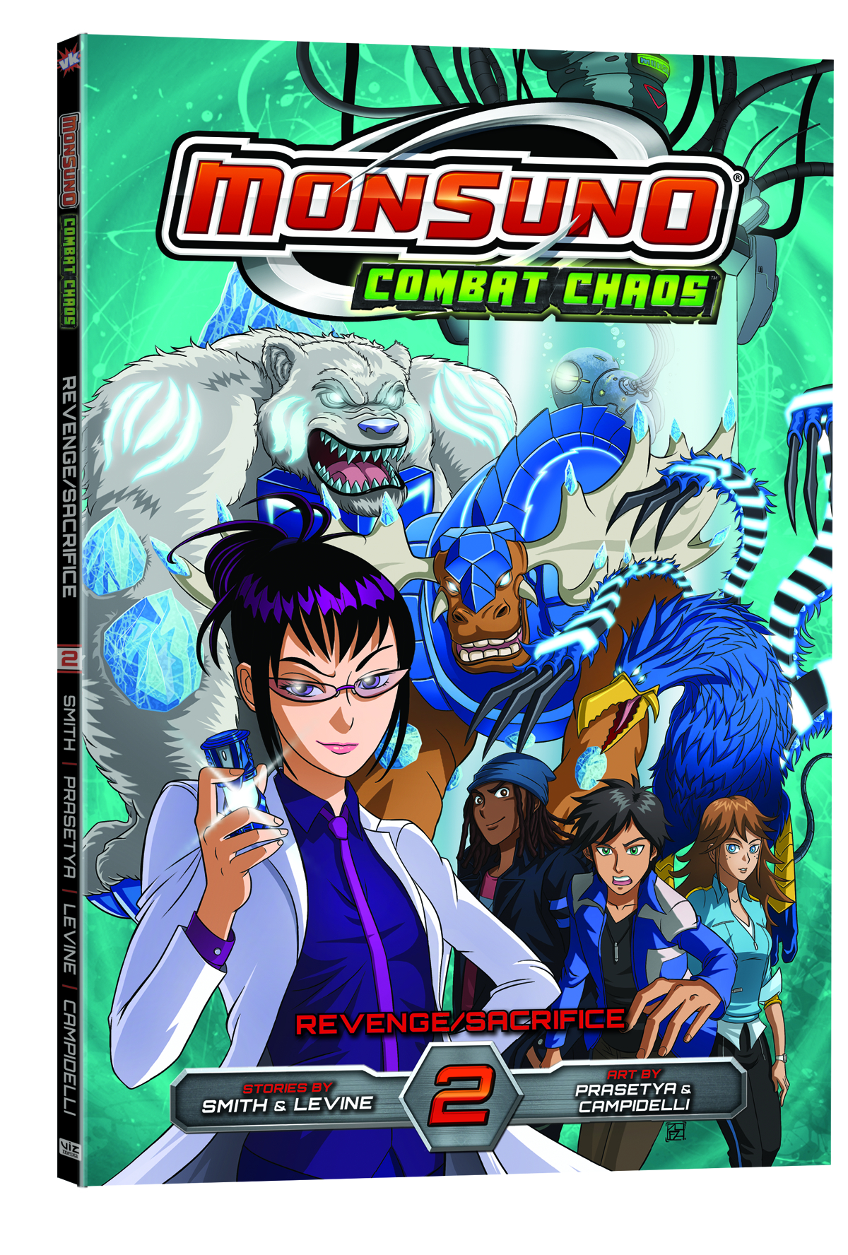 MONSUNO COMBAT CHAOS GN VOL 02