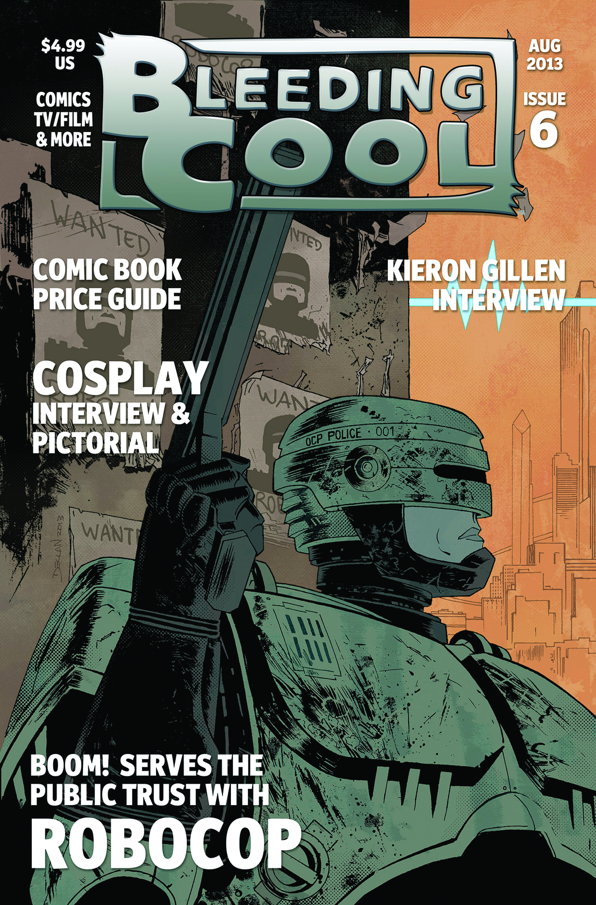 BLEEDING COOL MAGAZINE #6