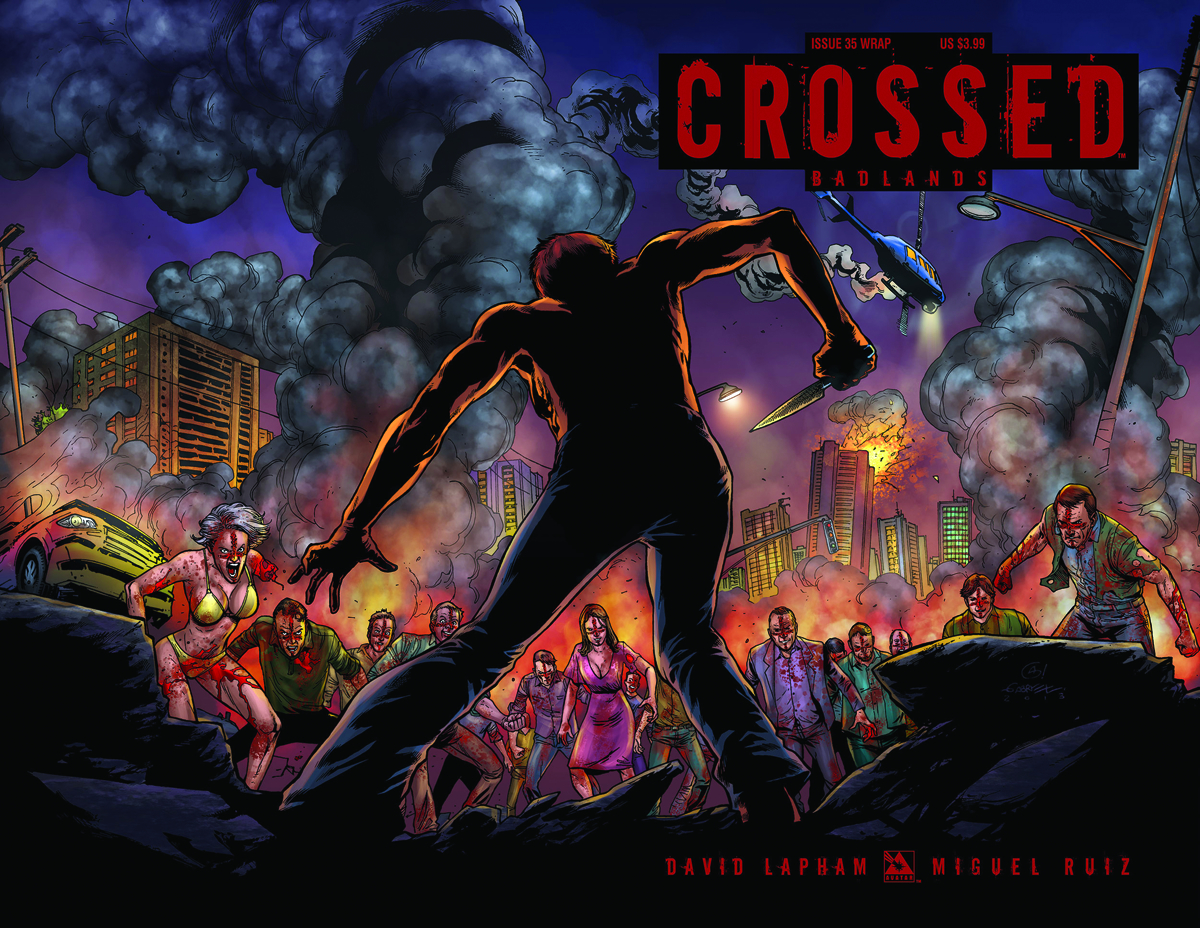CROSSED BADLANDS #35 WRAP CVR