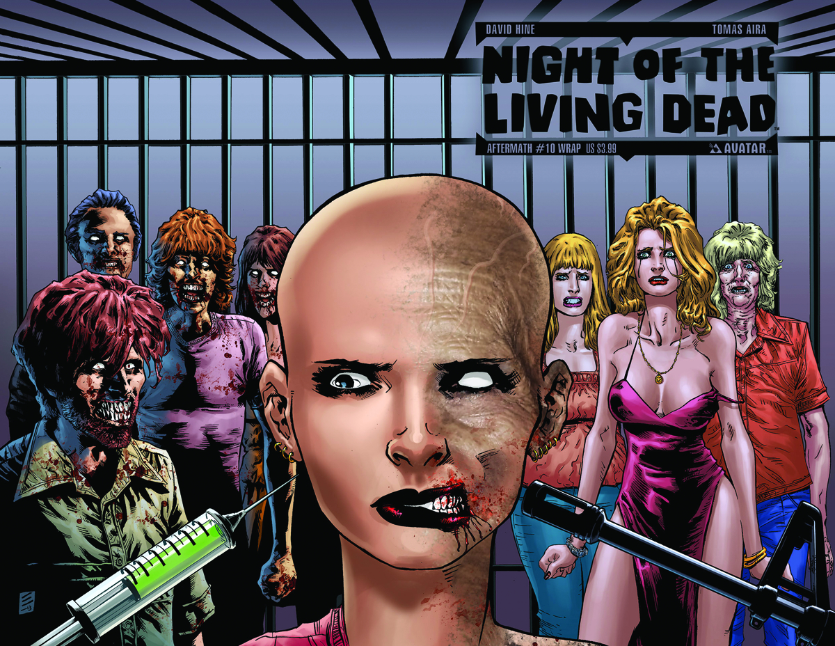 NIGHT O/T LIVING DEAD AFTERMATH #10 WRAP CVR