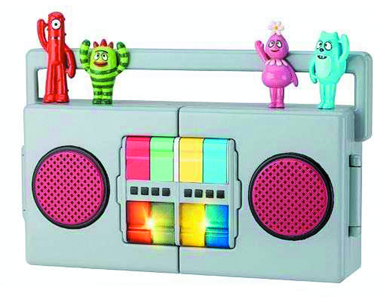 YO GABBA GABBA BOOMBOX CARRY PLAYSET