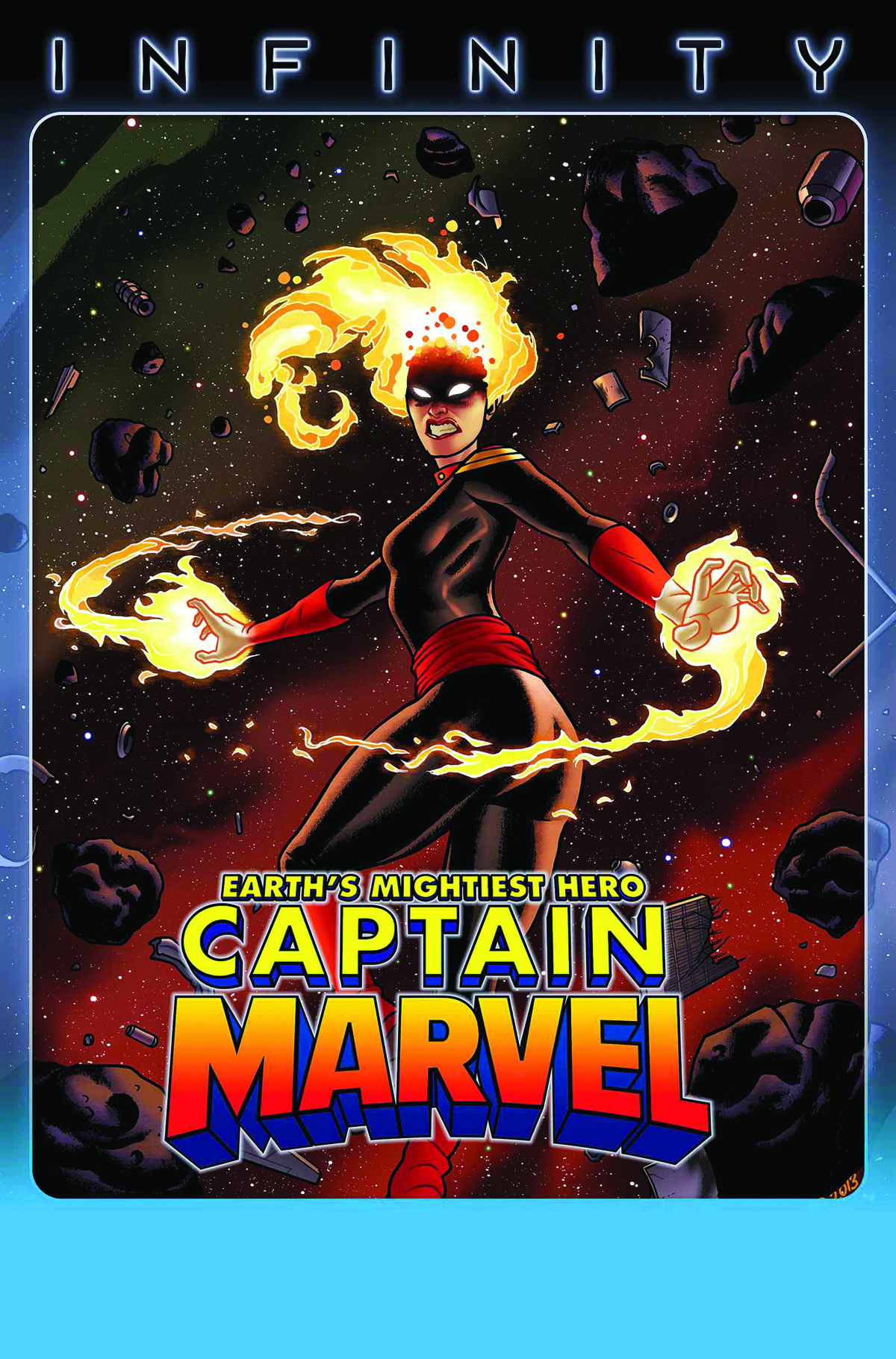 CAPTAIN MARVEL #15 INF