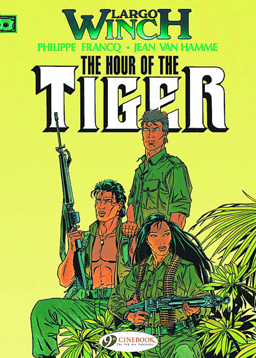 LARGO WINCH GN VOL 04 HOUR OF TIGER