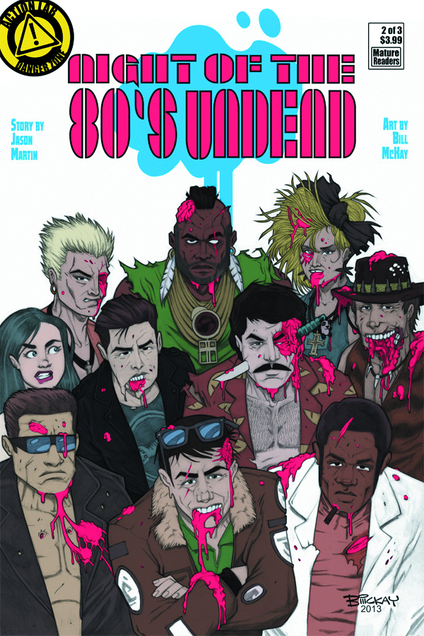NIGHT OF THE 80S UNDEAD #2 (OF 3)