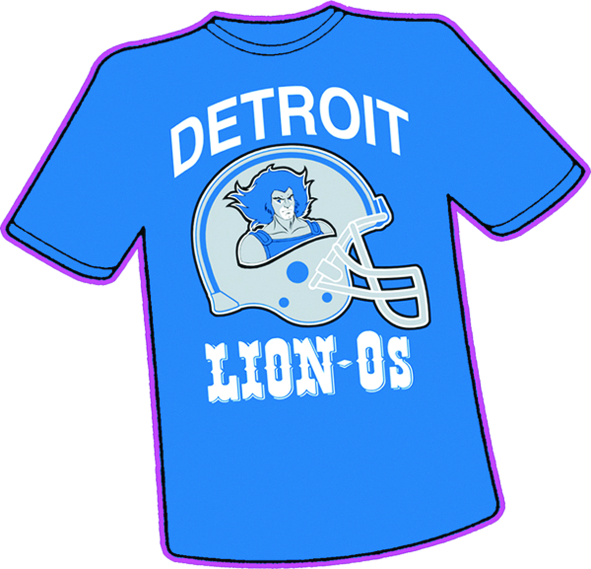 DETROIT LION-OS T/S XL