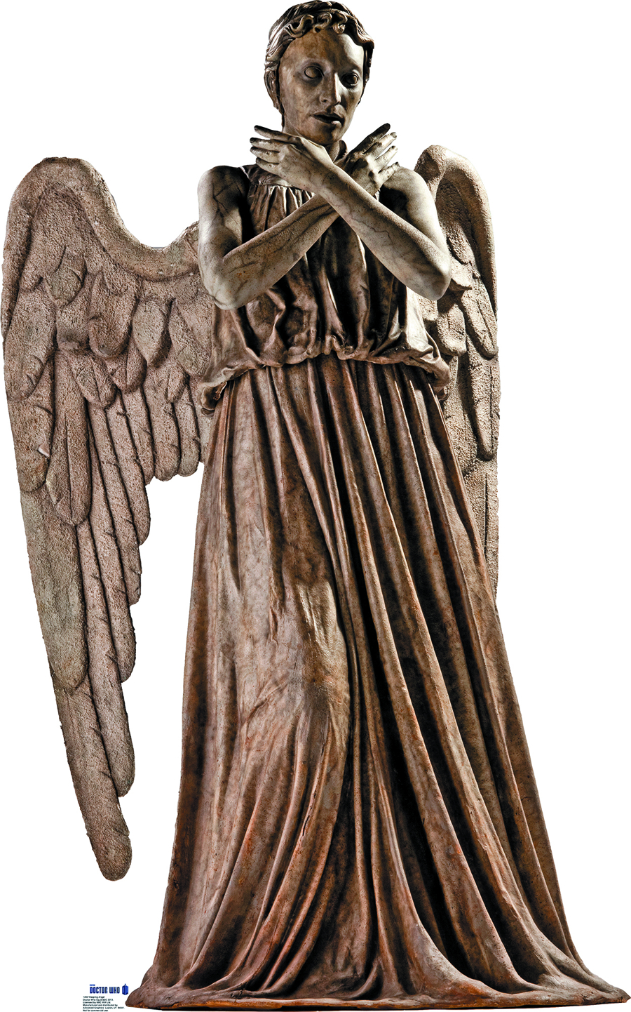DOCTOR WHO WEEPING ANGEL LIFE-SIZE STANDUP