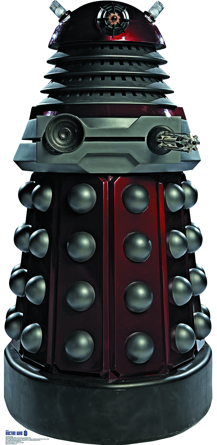 DOCTOR WHO RED DALEK LIFE-SIZE STANDUP