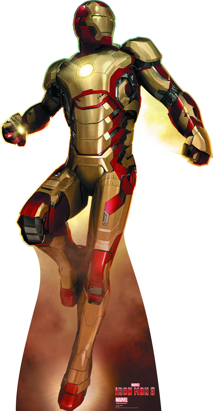 IRON MAN 3 IRON MAN FLYING LIFE-SIZE STANDUP