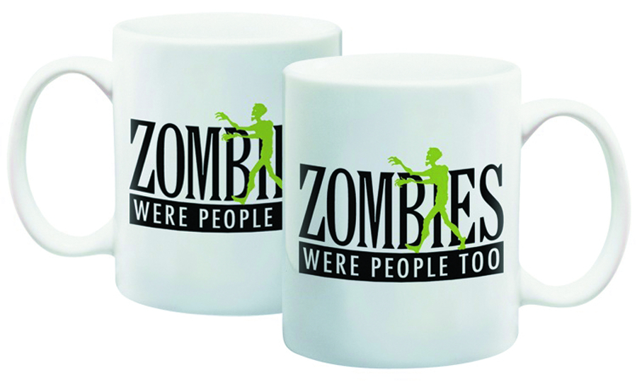 ZOMBIE WERE PEOPLE TOO MUG