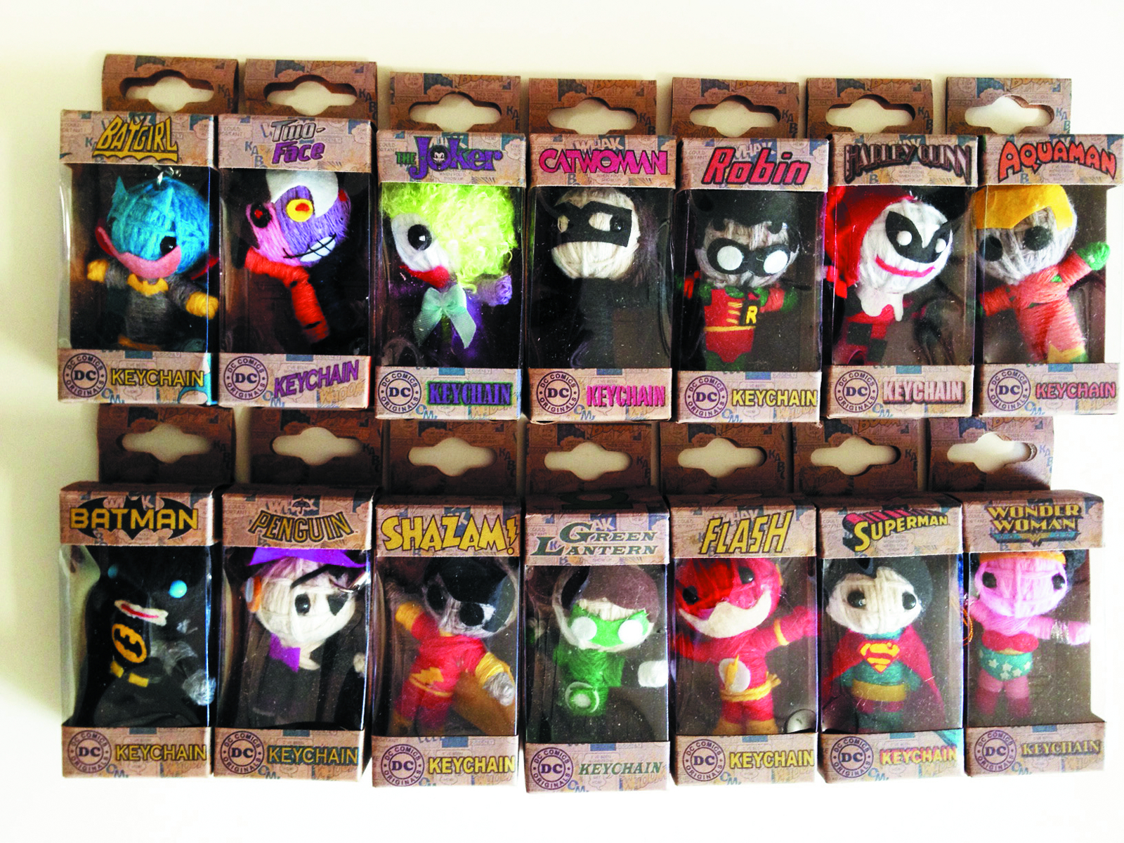 DC COMICS STRING DOLL 12-PC ASST