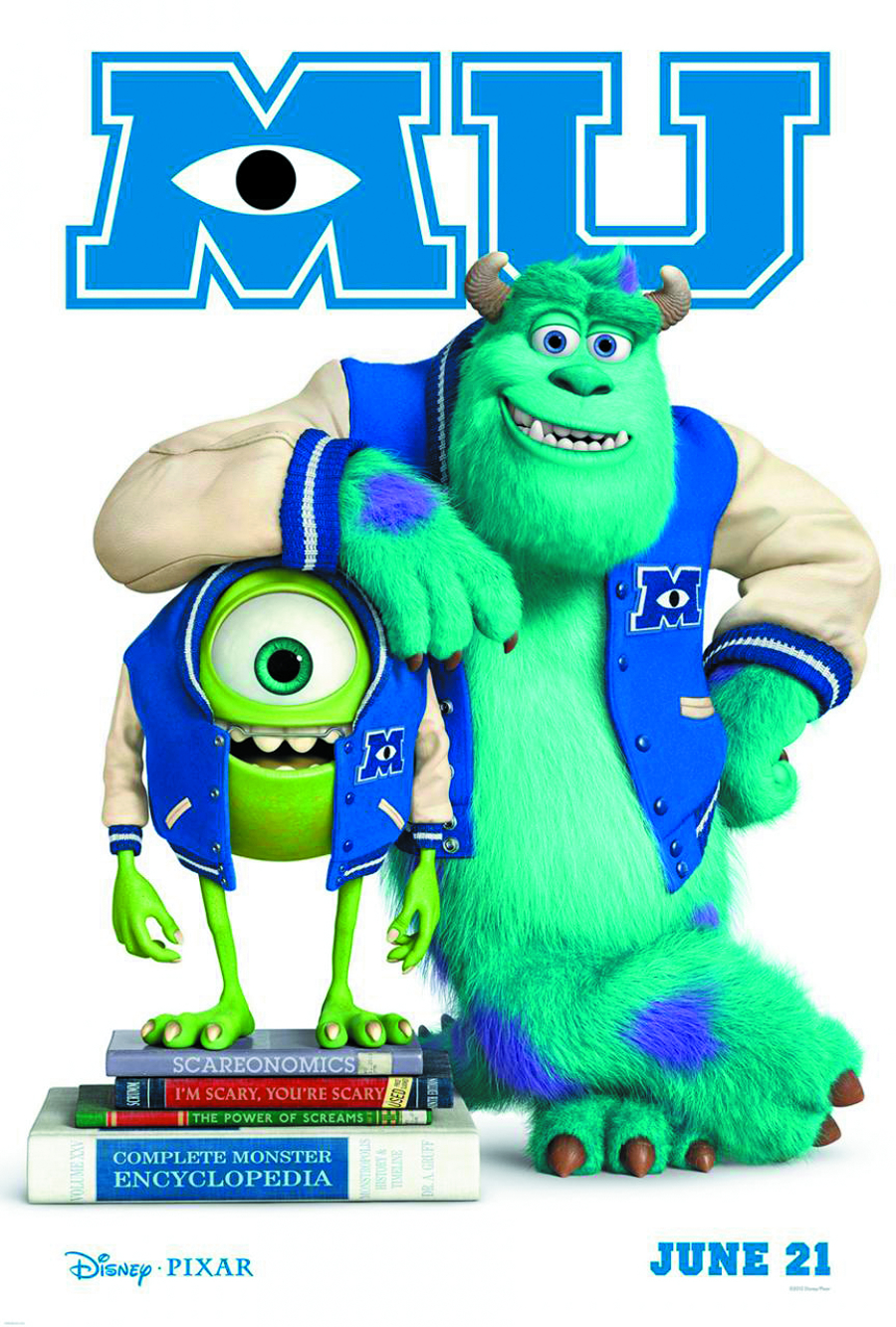 MONSTERS UNIVERSITY BD + DVD