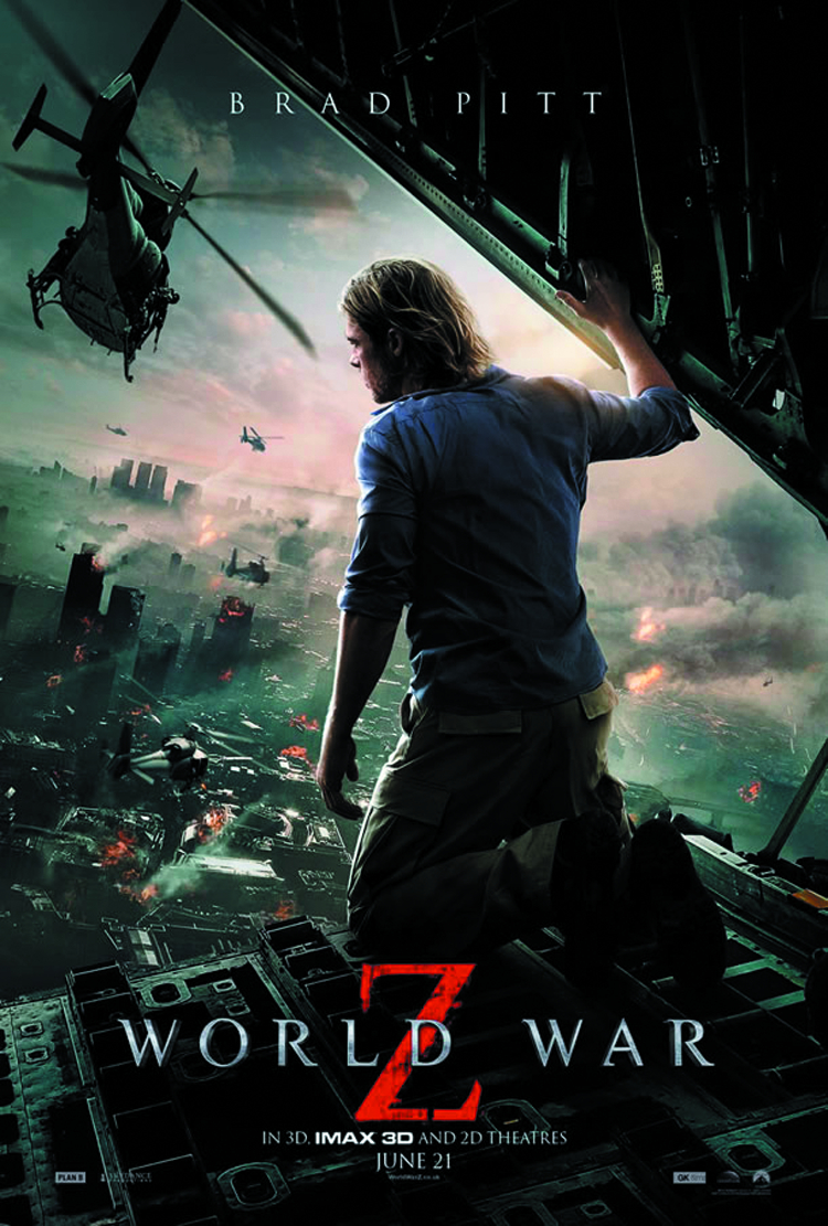 WORLD WAR Z BD + DVD