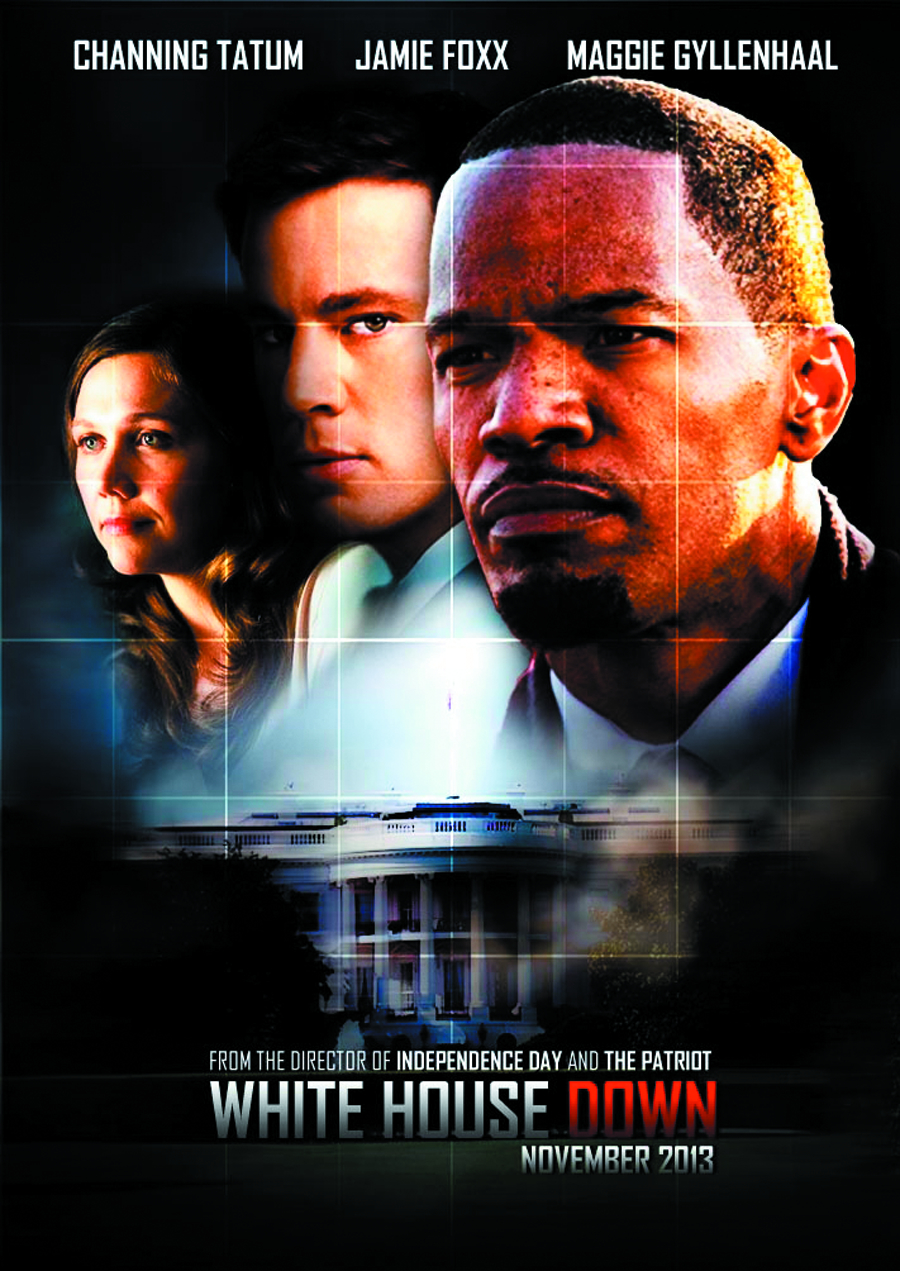 WHITE HOUSE DOWN BD + DVD