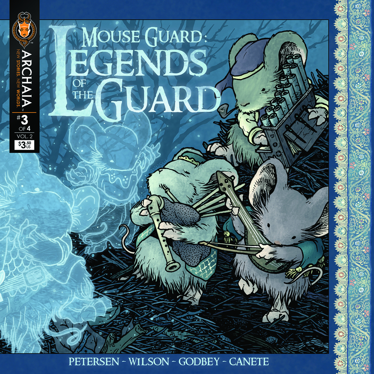 (USE DEC138308) MOUSE GUARD LEGENDS O/T GUARD VOL 2 #3