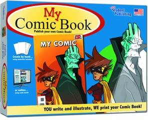 MY COMIC BOOK CREATE YOUR OWN COMIC KIT
