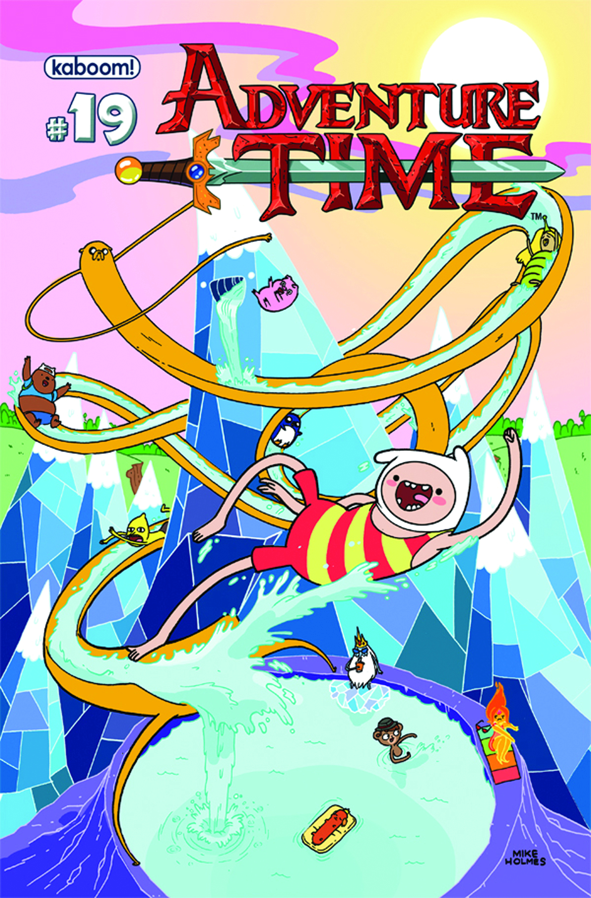 ADVENTURE TIME #19 MAIN CVRS