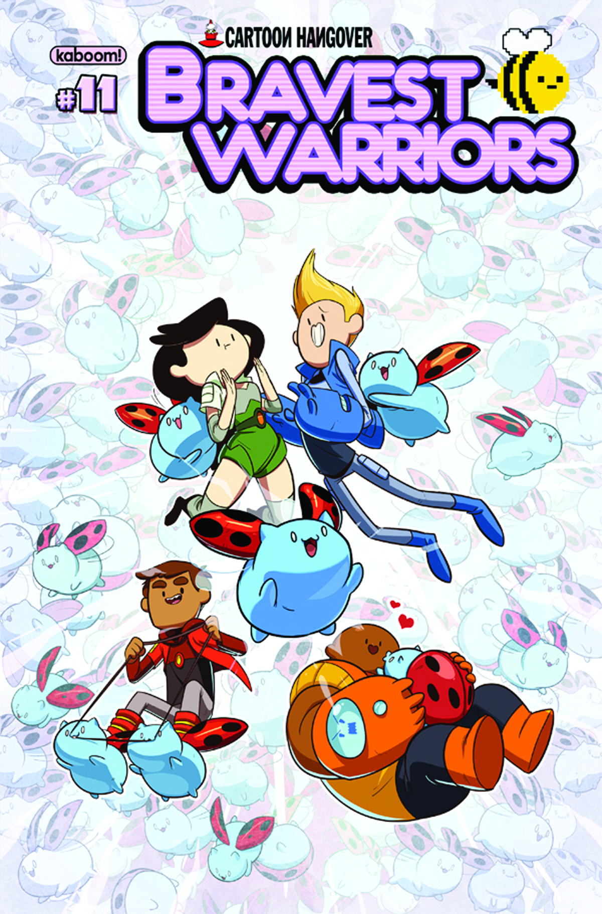 BRAVEST WARRIORS #11 MAIN CVRS