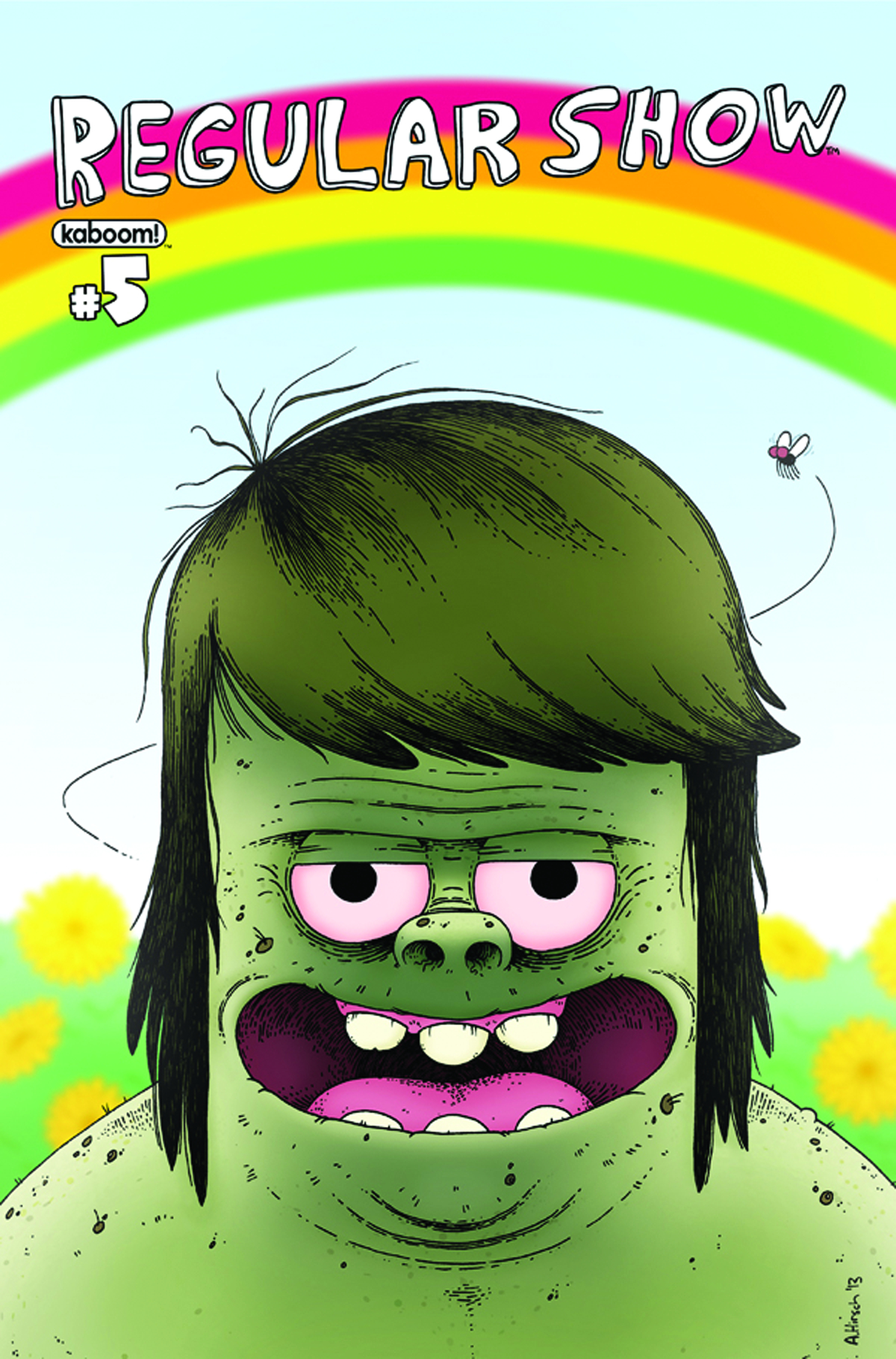 REGULAR SHOW #5 MAIN CVRS